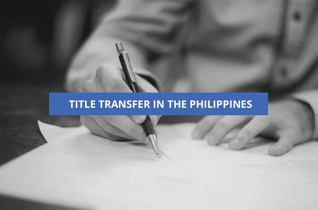 title transfer in the Philippines